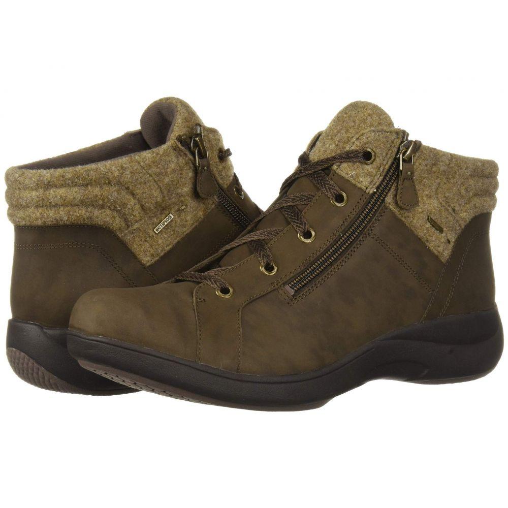 アラヴォン Aravon レディース ブーツ シューズ・靴【Rev Stridarc Waterproof Low Boot】Brown Nubuck