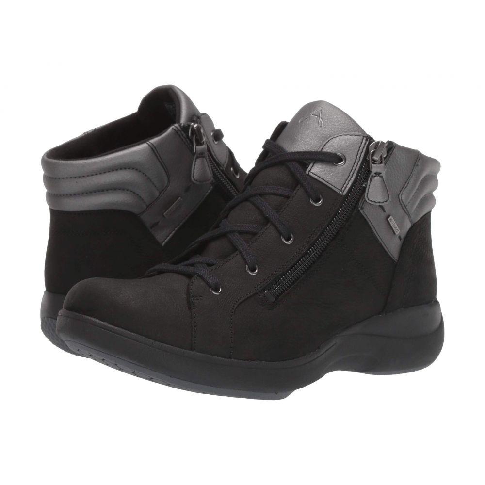 アラヴォン Aravon レディース ブーツ シューズ・靴【Rev Stridarc Waterproof Low Boot】Black Nubuck