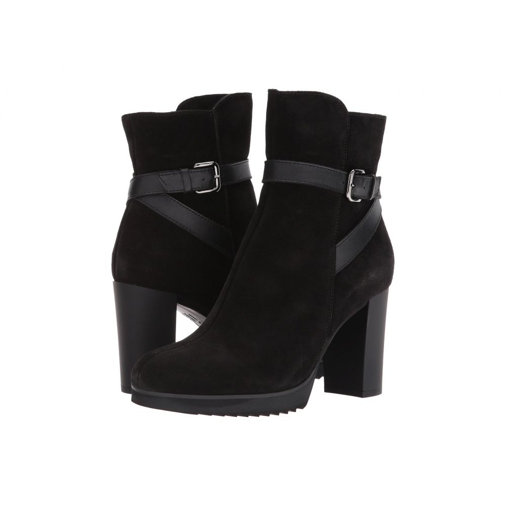 ラ カナディアン La Canadienne レディース ブーツ シューズ・靴【Meadow】Black Suede/Leather