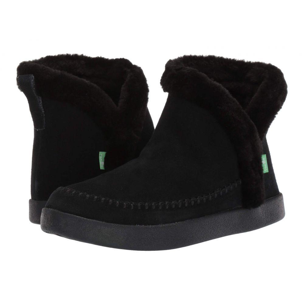 サヌーク Sanuk レディース ブーツ シューズ・靴【Nice Bootah Suede】Black