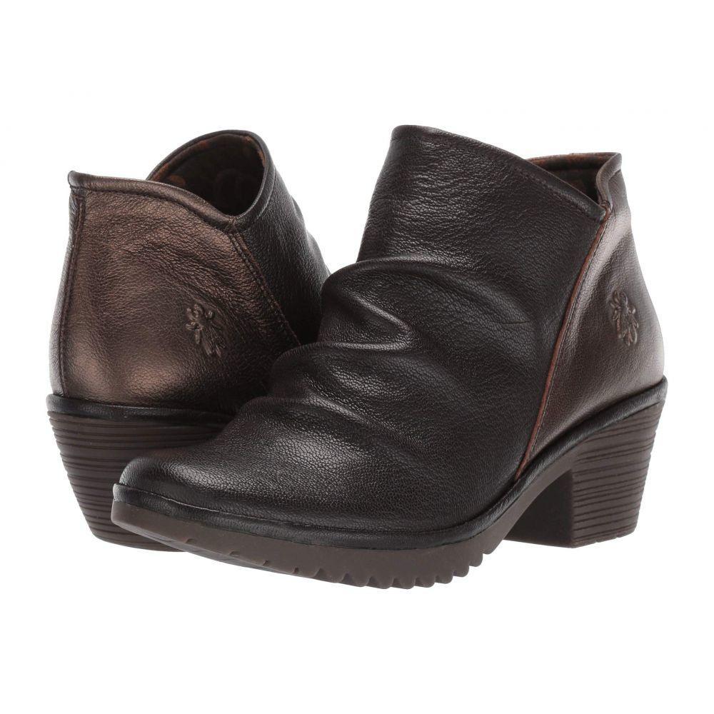 フライロンドン FLY LONDON レディース ブーツ シューズ・靴【WEZO890FLY Wide】Chocolate/Coffee Mousse/Idra