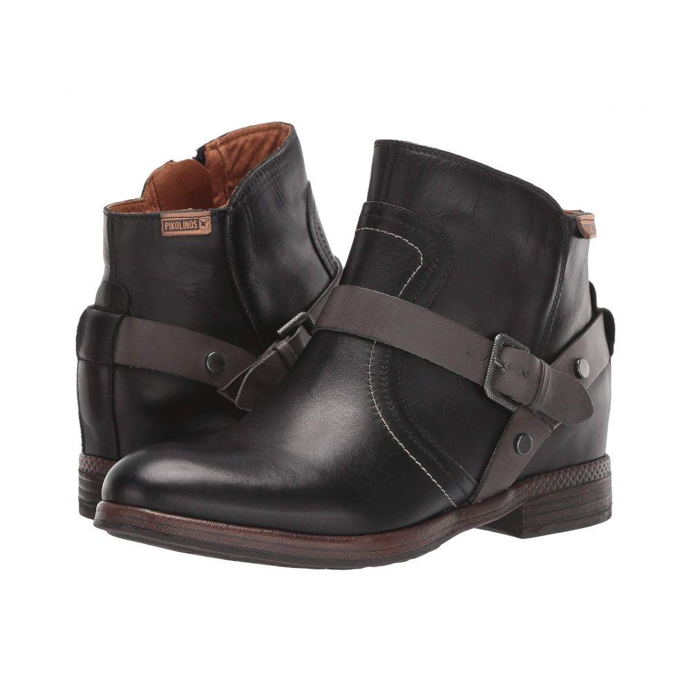 ピコリノス Pikolinos レディース ブーツ シューズ・靴【Ordino W8M-8644】Black