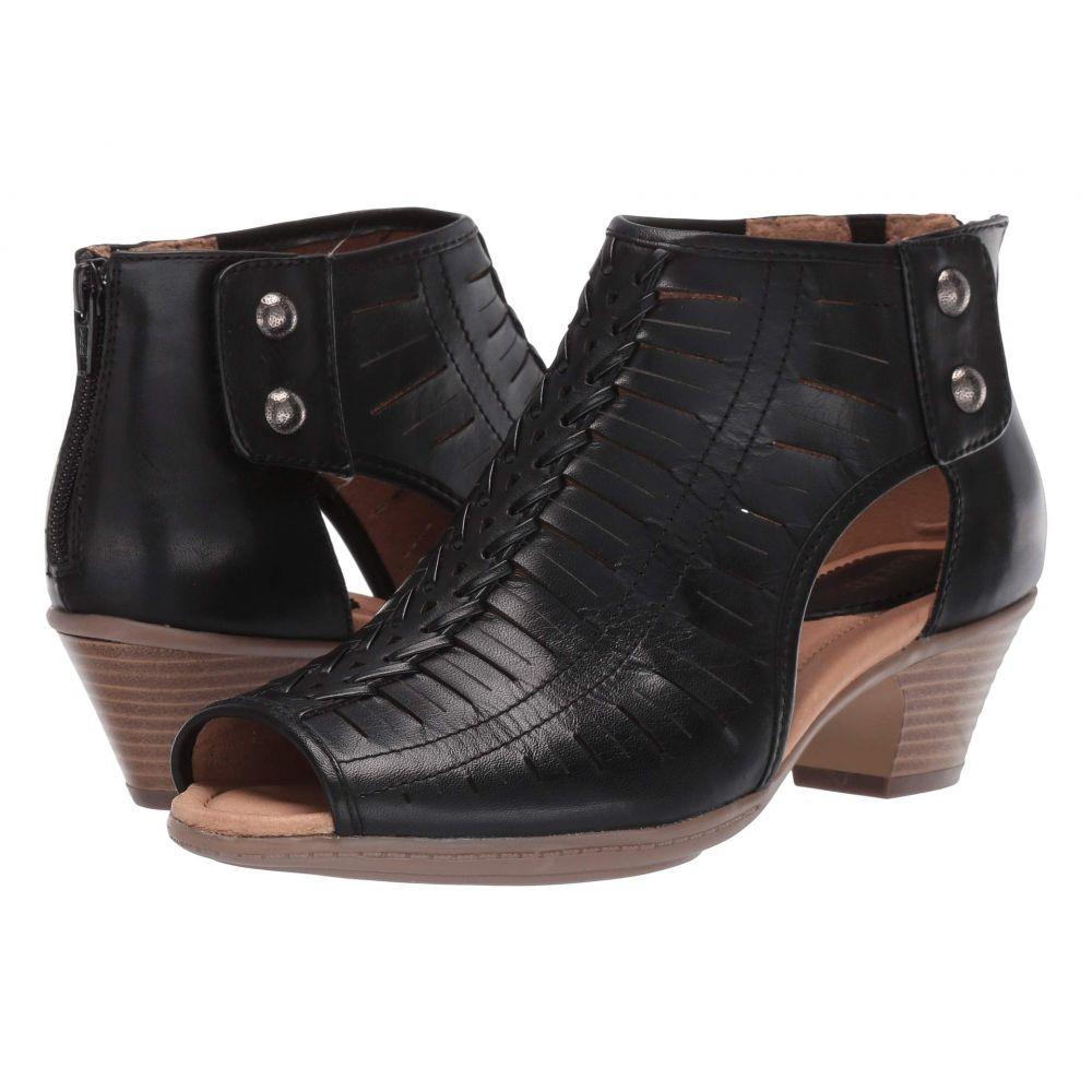 カルソーアースシューズ Earth レディース ブーツ シューズ・靴【Vicki】Black Leather