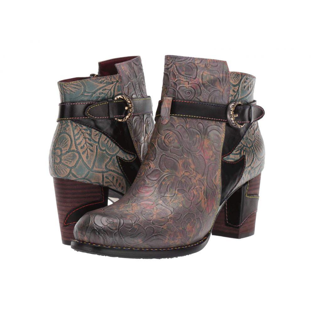 スプリングステップ L'Artiste by Spring Step レディース ブーツ シューズ・靴【Tallulah】Black Multi