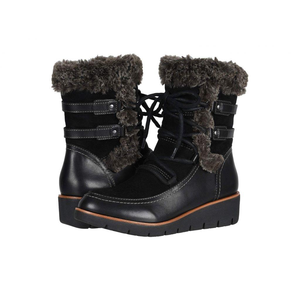 カルソーアースシューズ Earth レディース ブーツ シューズ・靴【Zurich Basel】Black Andes Waterproof/Silky Suede Wrap