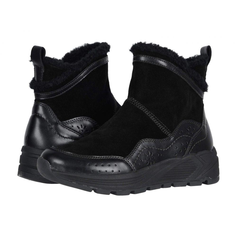 カルソーアースシューズ Earth レディース ブーツ シューズ・靴【Journey Verve】Black Multi Premium Cow Suede Waterproof/Calf PU Waterproof