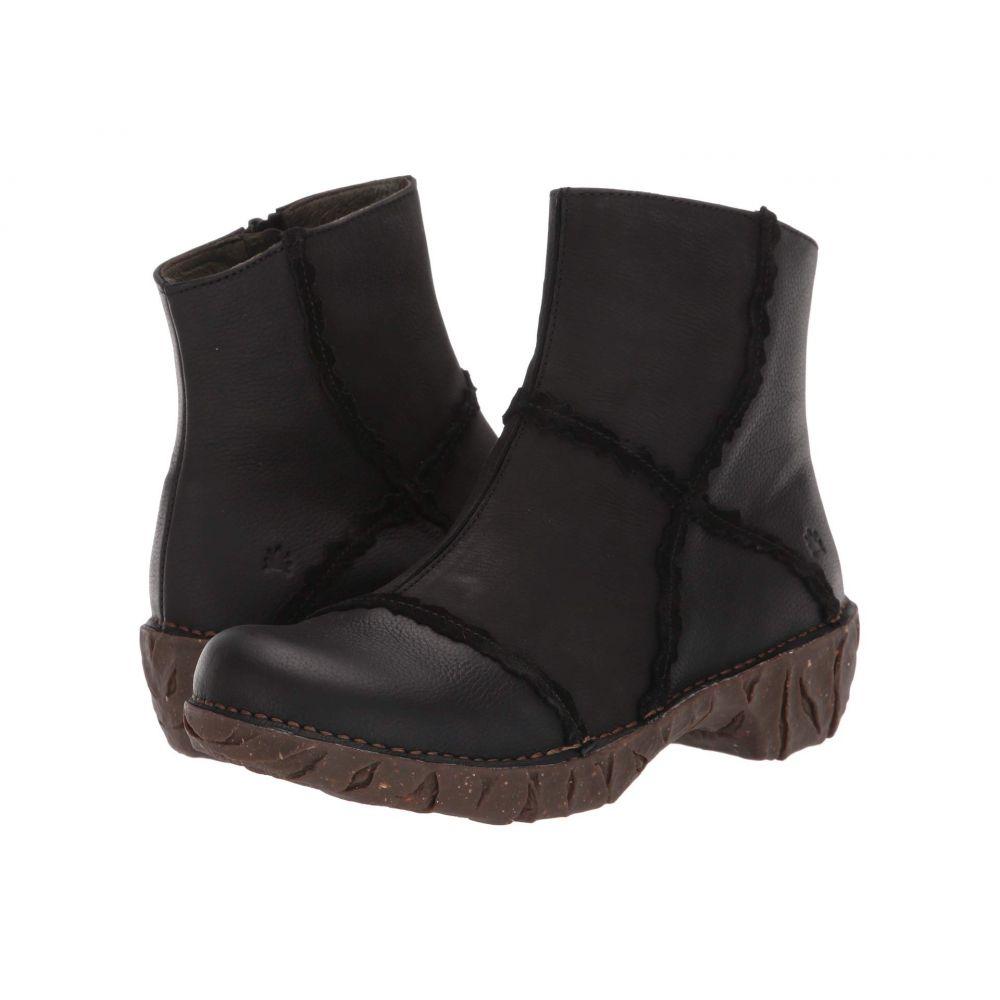 エル ナチュラリスタ El Naturalista レディース ブーツ シューズ・靴【Yggdrasil NG59】Black
