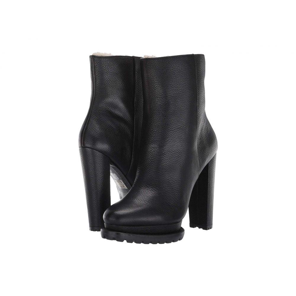 アリス アンド オリビア Alice + Olivia レディース ブーツ シアリング シューズ・靴【Holden Shearling Boot】Black