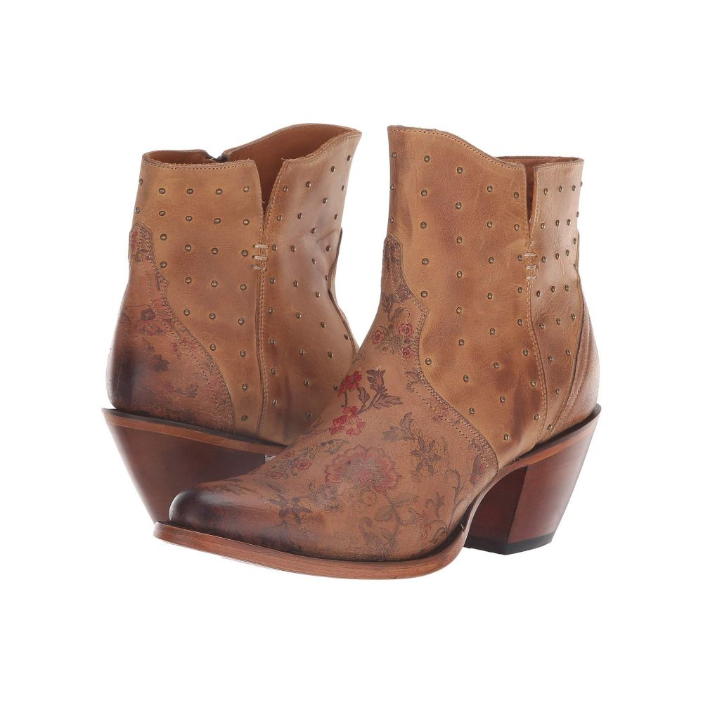 ルケーシー Lucchese レディース ブーツ シューズ・靴【Harley】Brown Floral Print