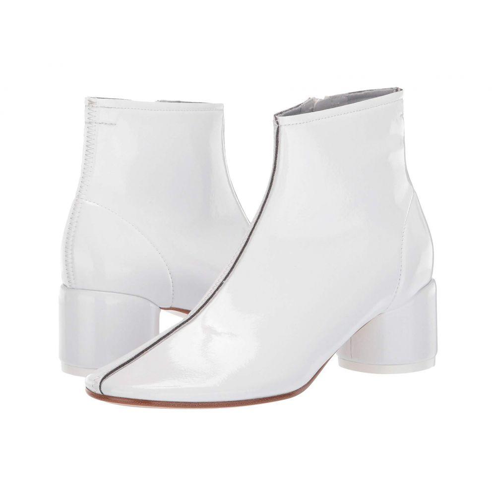 メゾン マルジェラ MM6 Maison Margiela レディース ブーツ シューズ・靴【Classic Round Low Heel Boot】Bright White