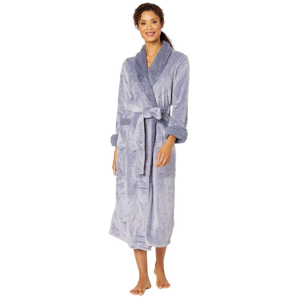 ナトリ Natori レディース ガウン・バスローブ インナー・下着【Plush Sherpa Robe 52'】Blue Granite