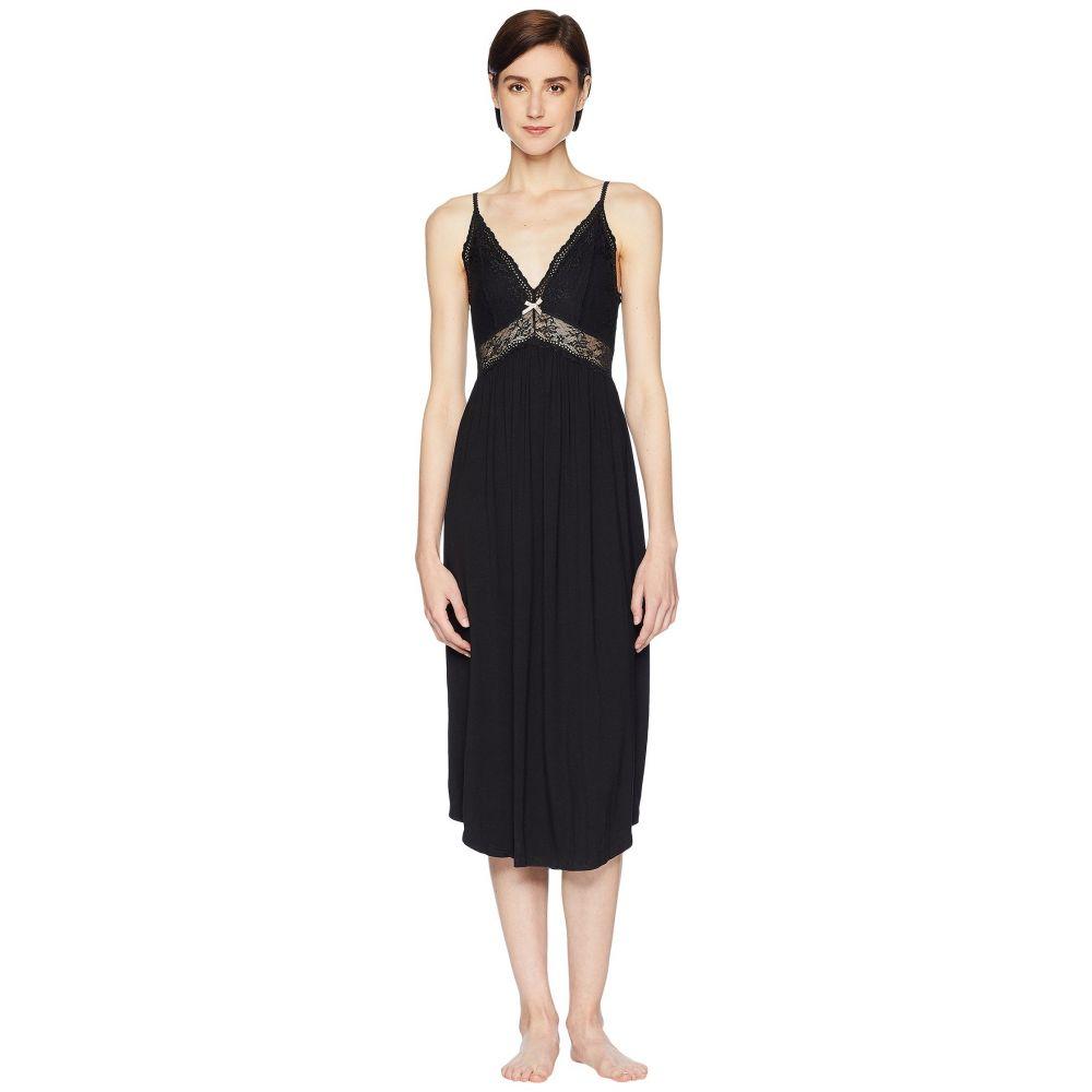 エバージェイ Eberjey レディース パジャマ・トップのみ インナー・下着【Colette - Long Gown】Black