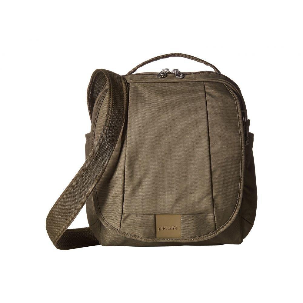 パックセイフ Pacsafe レディース ショルダーバッグ バッグ【Metrosafe LS200 Anti-Theft Shoulder Bag】Earth Khaki