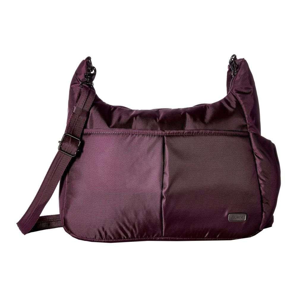 パックセイフ Pacsafe レディース ショルダーバッグ バッグ【Daysafe Anti-Theft Crossbody Bag】Blackberry