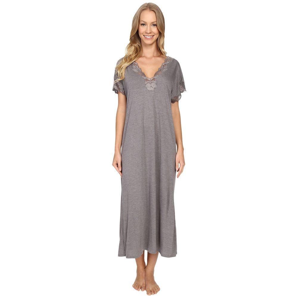 ナトリ Natori レディース パジャマ・トップのみ インナー・下着【Zen Floral Nightgown】Heather Grey