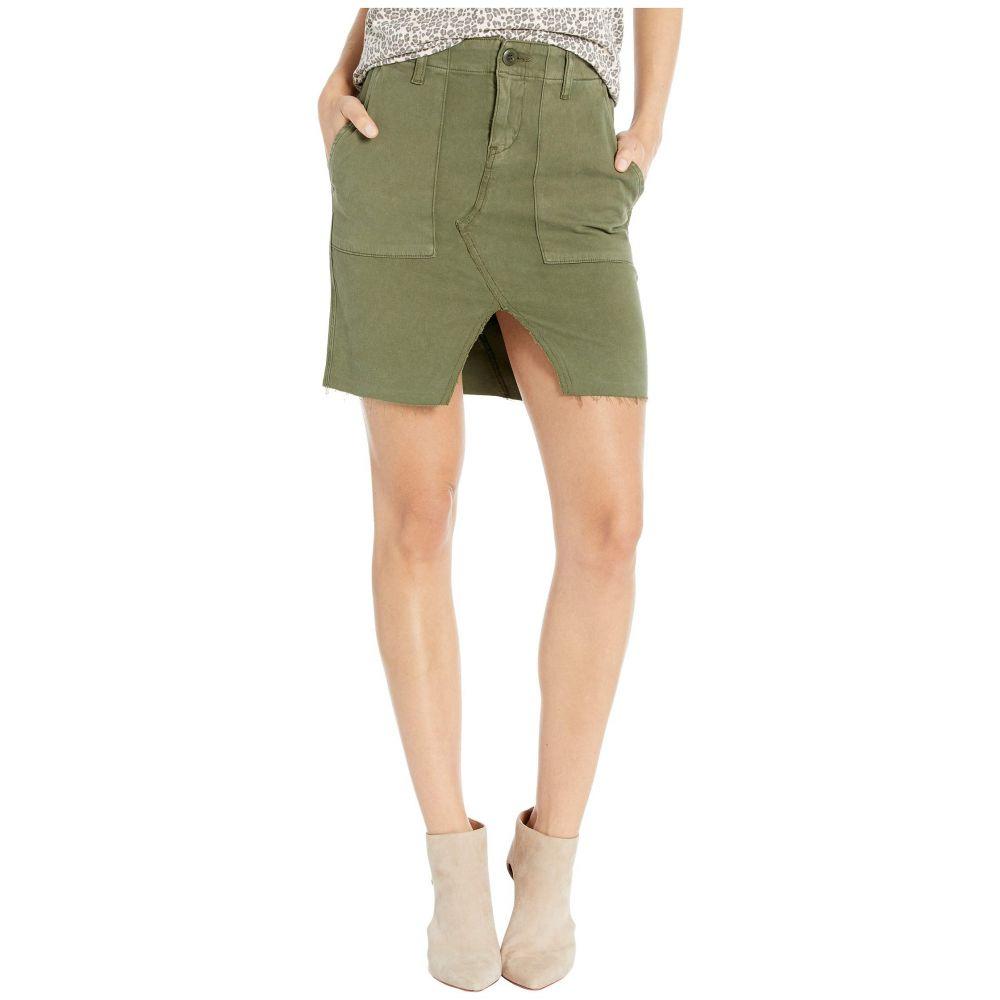 ハドソンジーンズ Hudson Jeans レディース カーゴパンツ ボトムス・パンツ【Lulu Military Cargo Skirt in Washed Troop】Washed Troop