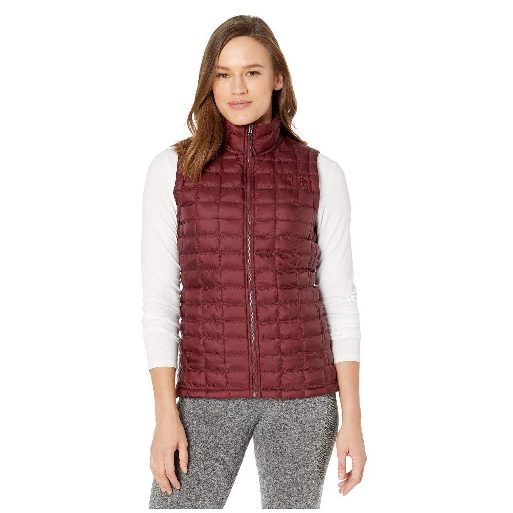 ザ ノースフェイス The North Face レディース ベスト・ジレ トップス【ThermoBall(TM) Eco Vest】Deep Garnet Red Matte