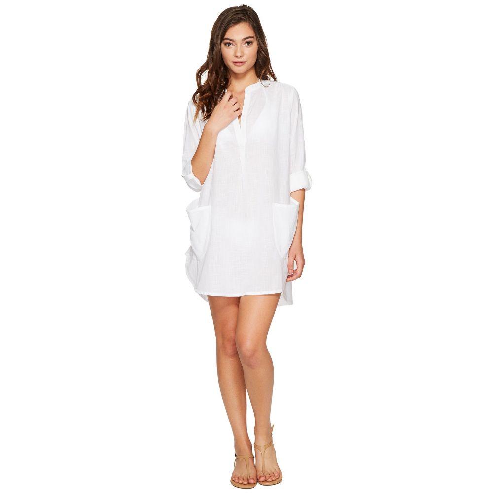 シーフォリー Seafolly レディース ビーチウェア トップス 水着・ビーチウェア【Boyfriend Beach Shirt】White