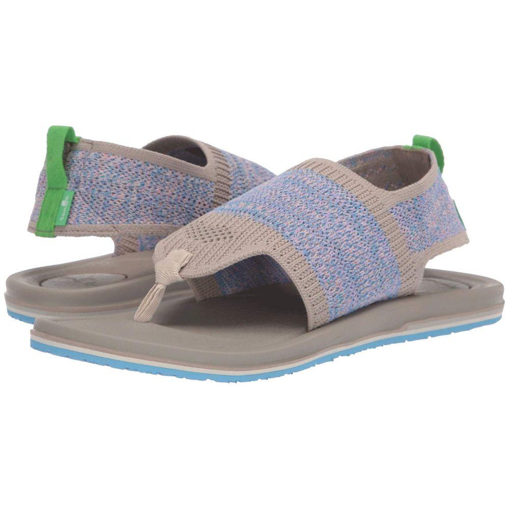 サヌーク Sanuk レディース ヨガ・ピラティス シューズ・靴【Yoga Sling 3 Knit】Cobblestone Multi