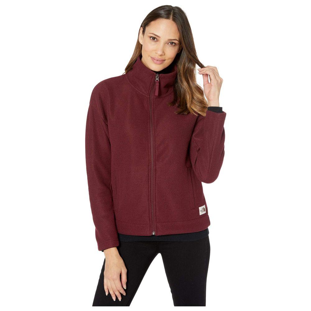 ザ ノースフェイス The North Face レディース フリース トップス【Sibley Fleece Full Zip Jacket】Deep Garnet Red Heather