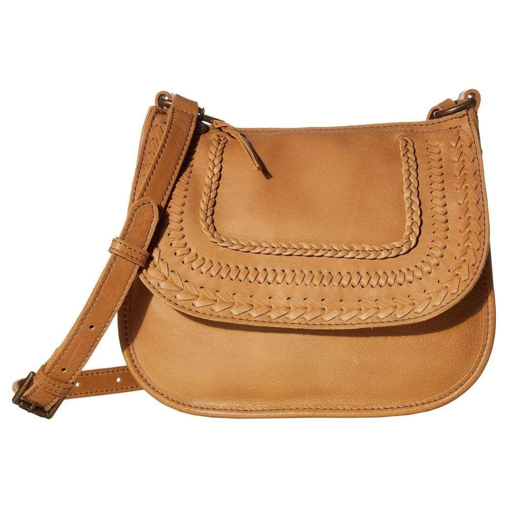ザ サク The Sak レディース ショルダーバッグ バッグ【Playa Leather Saddle Bag】Scotch Braid