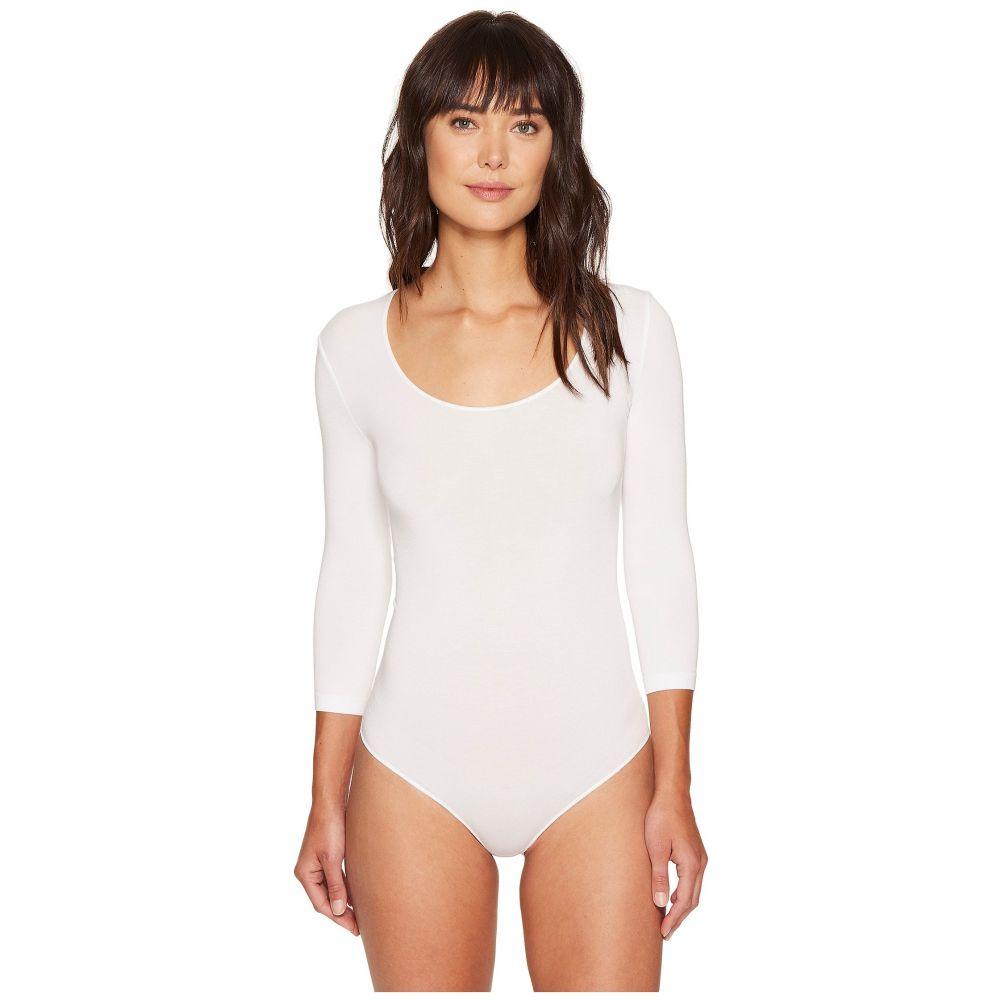 ウォルフォード Wolford レディース ボディースーツ インナー・下着【Tokio String Bodysuit】White