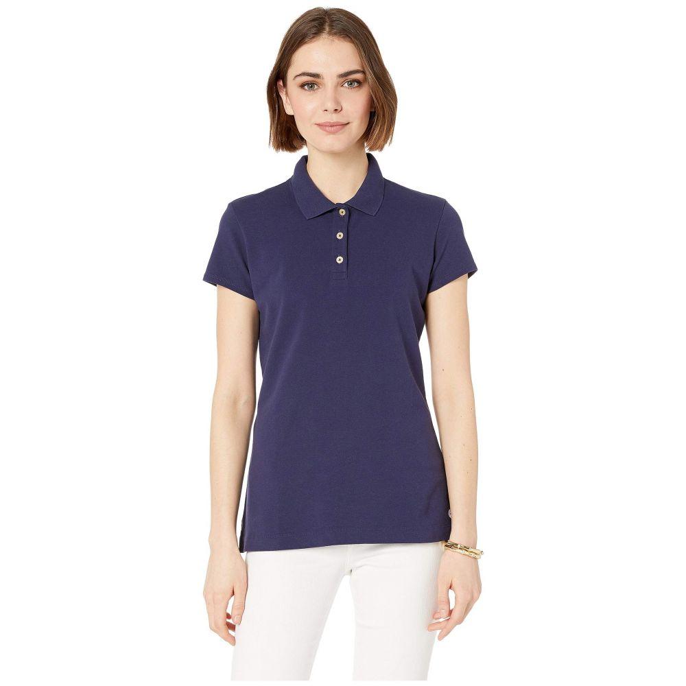 リリーピュリッツァー Lilly Pulitzer レディース ポロシャツ 半袖 トップス【Meredith Short Sleeve Golf Polo】True Navy