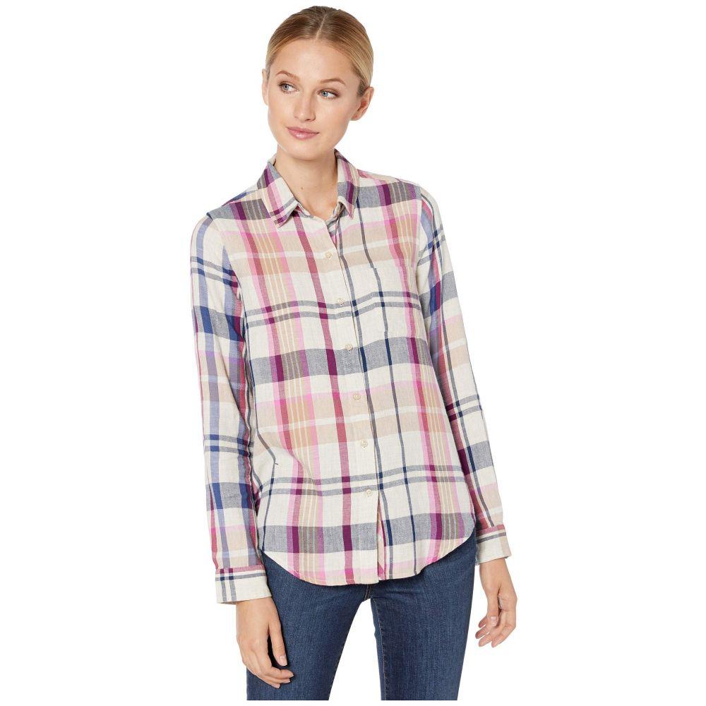 ラッキーブランド Lucky Brand レディース ブラウス・シャツ トップス【Blue Classic One-Pocket Plaid Shirt】Natural Multi