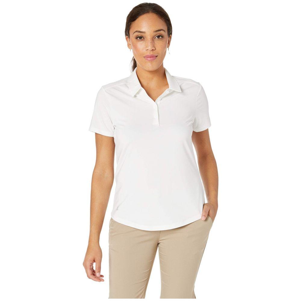 アディダス adidas Golf レディース ポロシャツ 半袖 トップス【Ultimate Short Sleeve Polo】White