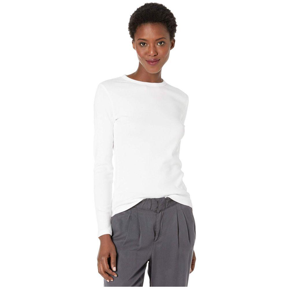 リラピー Lilla P レディース 長袖Tシャツ トップス【Long Sleeve Crew】White
