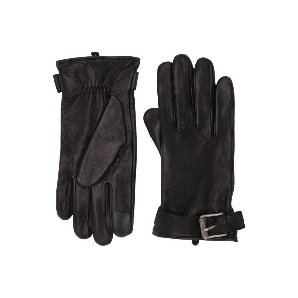 フライ Frye メンズ 手袋・グローブ 【Deerskin Buckle Gloves】Black