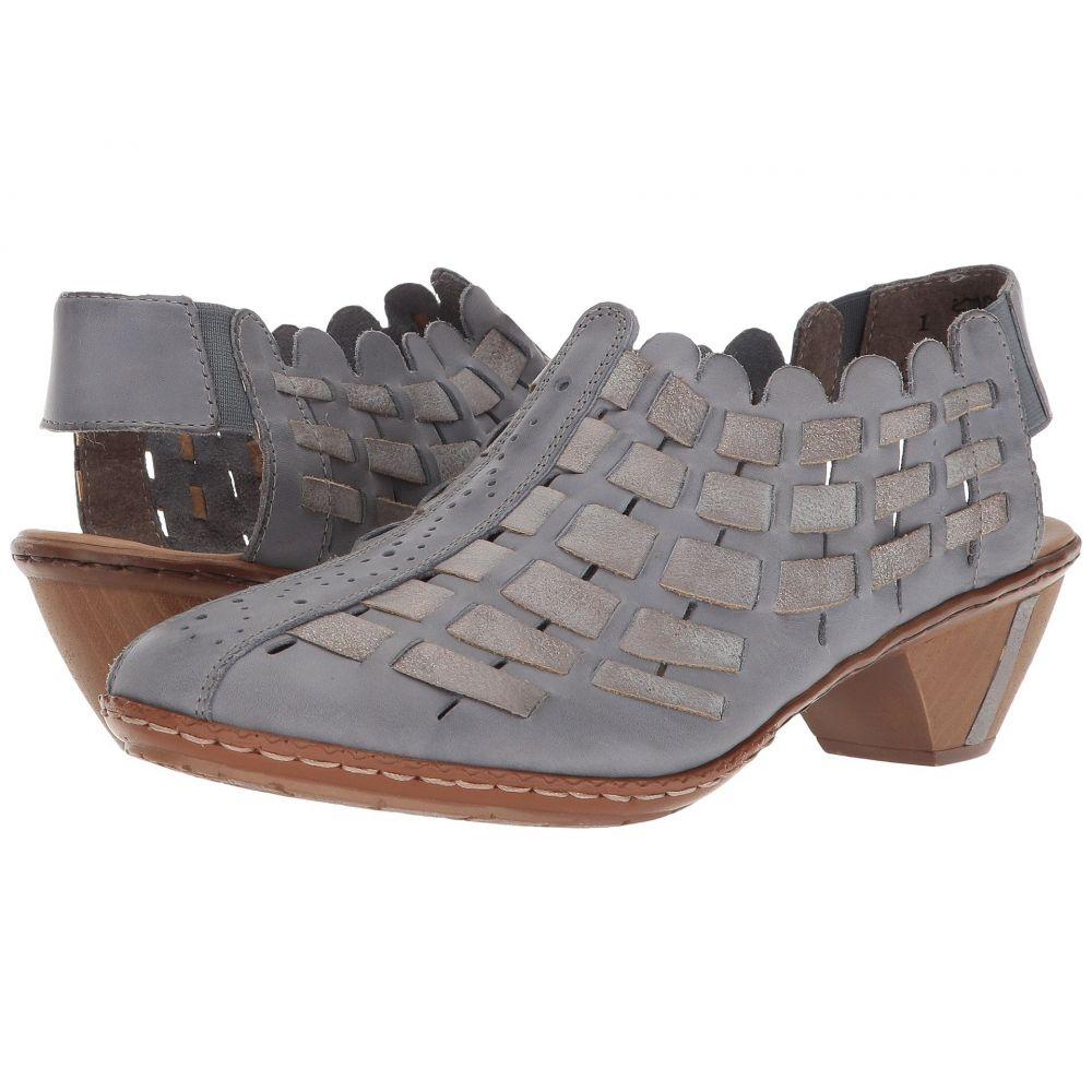 リエカー Rieker レディース ブーツ シューズ・靴【46778 Sina 78】Azur/Grey