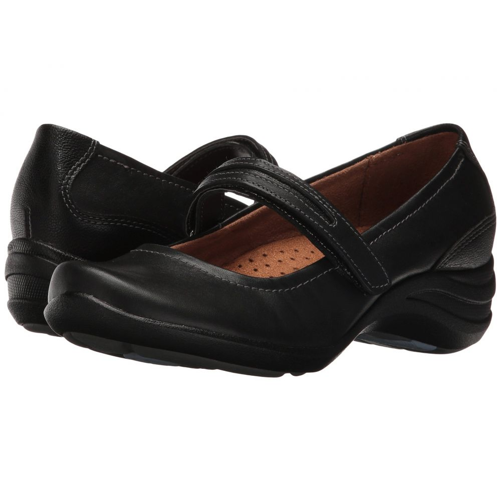 ハッシュパピー Hush Puppies レディース ヒール シューズ・靴【Epic Mary Jane】Black Leather