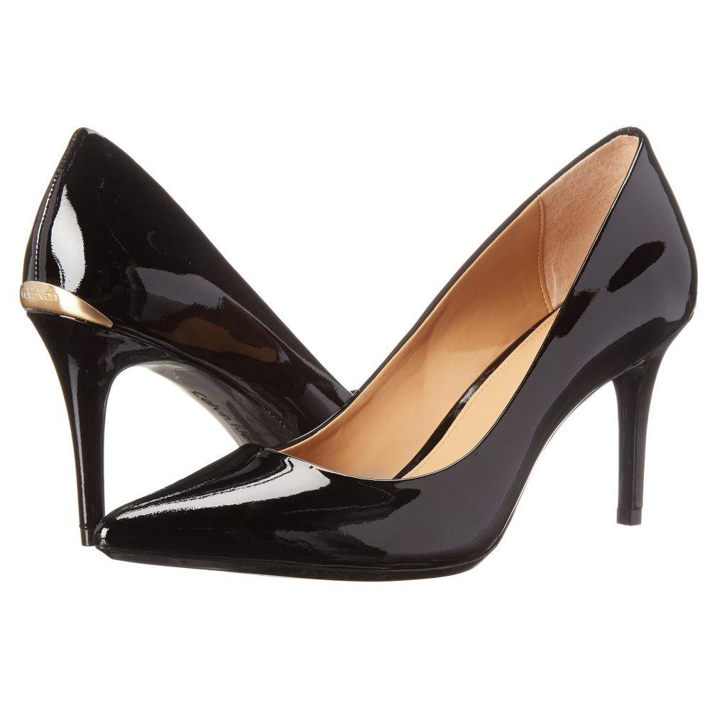 カルバンクライン Calvin Klein レディース パンプス シューズ・靴【Gayle Pump】Black Patent