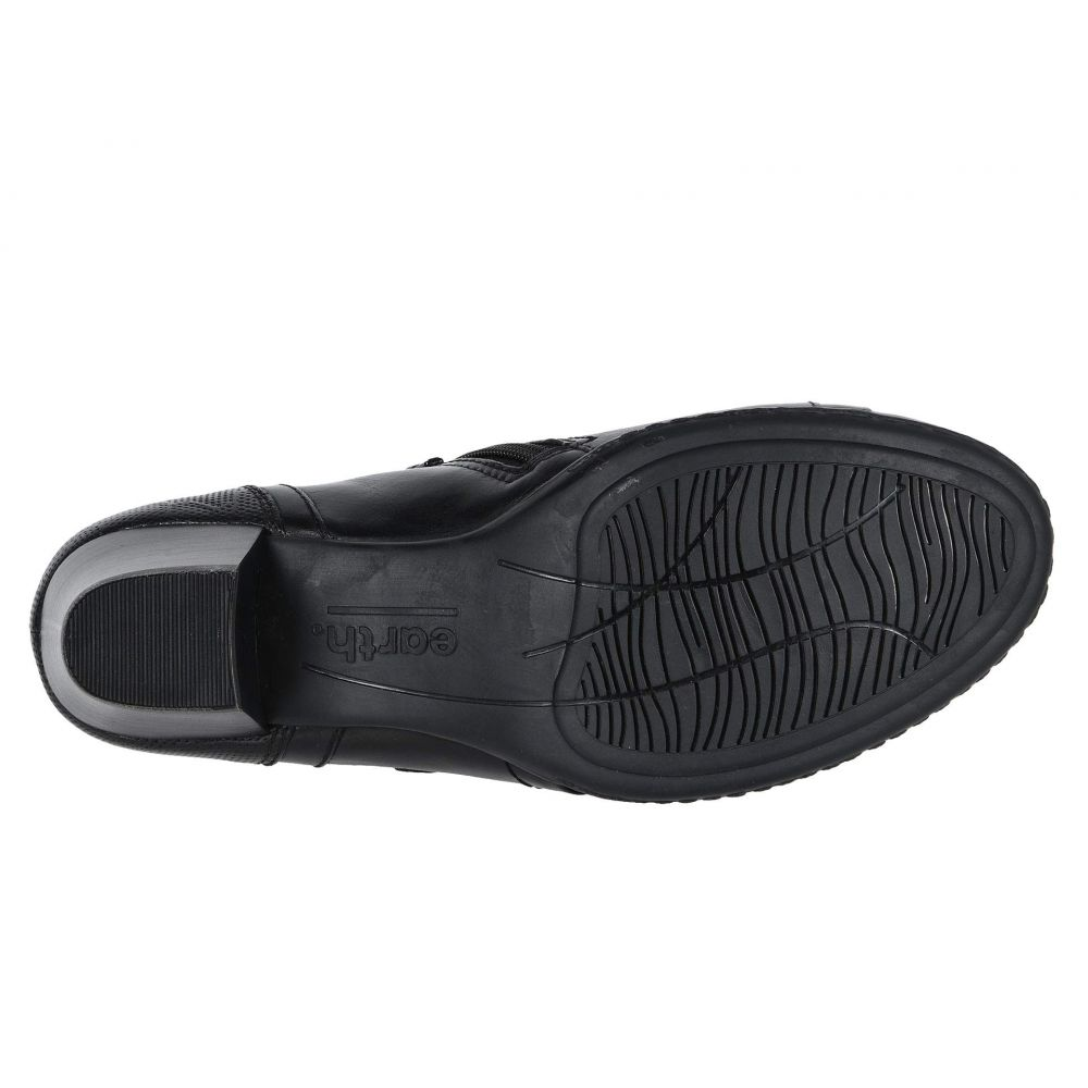 カルソーアースシューズ Earth レディース ブーツ シューズ・靴 Calgary Toronto Black Soft CalfrCtsQhdx