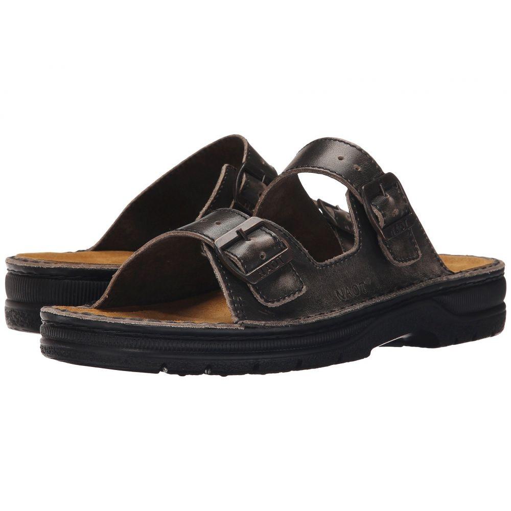 ナオト Naot メンズ サンダル シューズ・靴【Mikael】Vintage Gray Leather