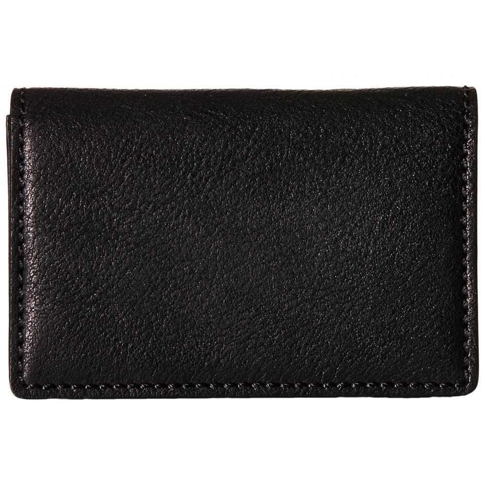 ボスカ Bosca メンズ カードケース・名刺入れ 【Washed Collection - Full Gusset Card Case】Black