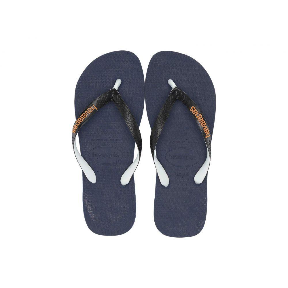 ハワイアナス Havaianas メンズ ビーチサンダル シューズ・靴【Top Mix Flip Flops】Navy Blue/Black