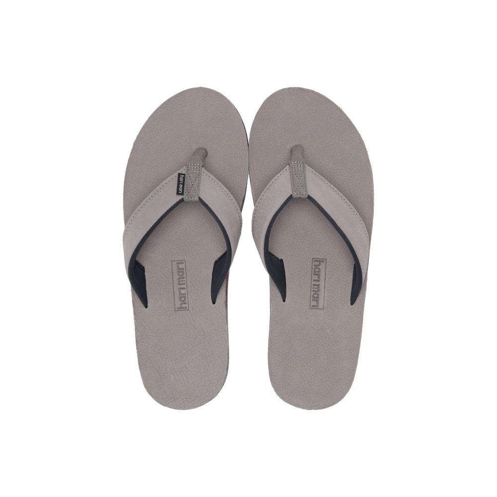 ハリマリ hari mari メンズ ビーチサンダル シューズ・靴【Piers】Gray
