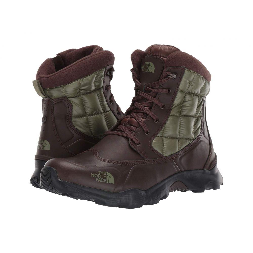 ザ ノースフェイス The North Face メンズ ブーツ シューズ・靴【ThermoBall Boot Zipper】Demitasse Brown/Four Leaf Clover