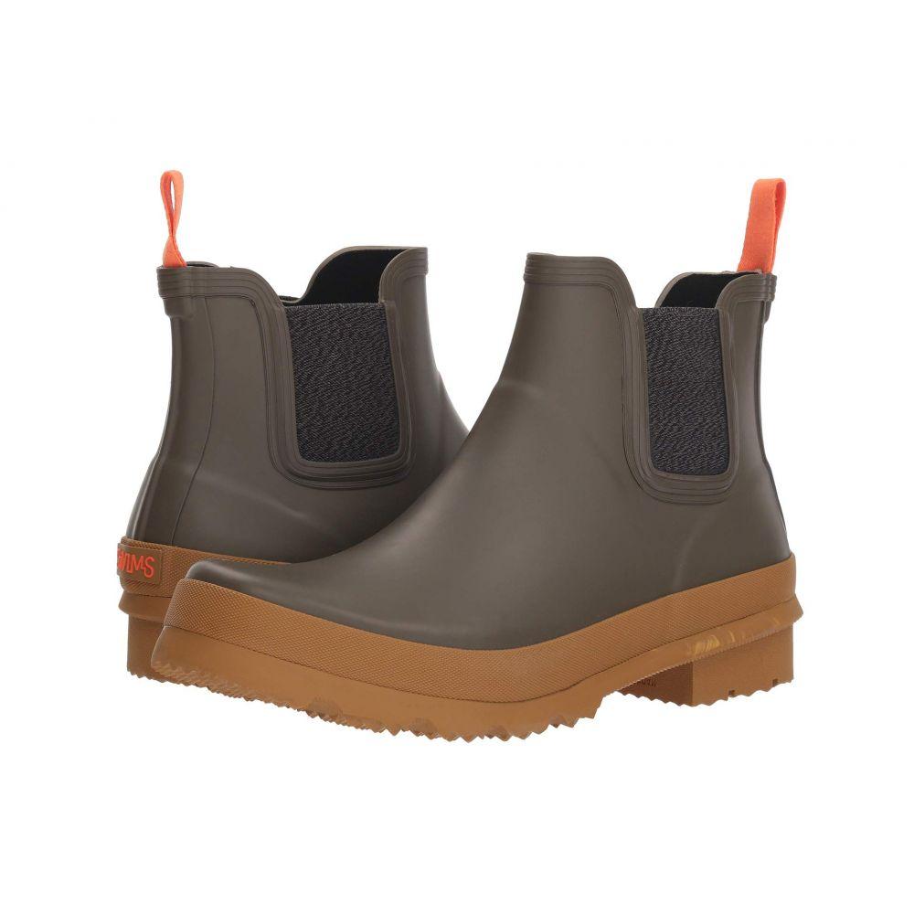 スウィムス SWIMS メンズ レインシューズ・長靴 シューズ・靴【Charlie Rain Boot】Taupe/Biscuit