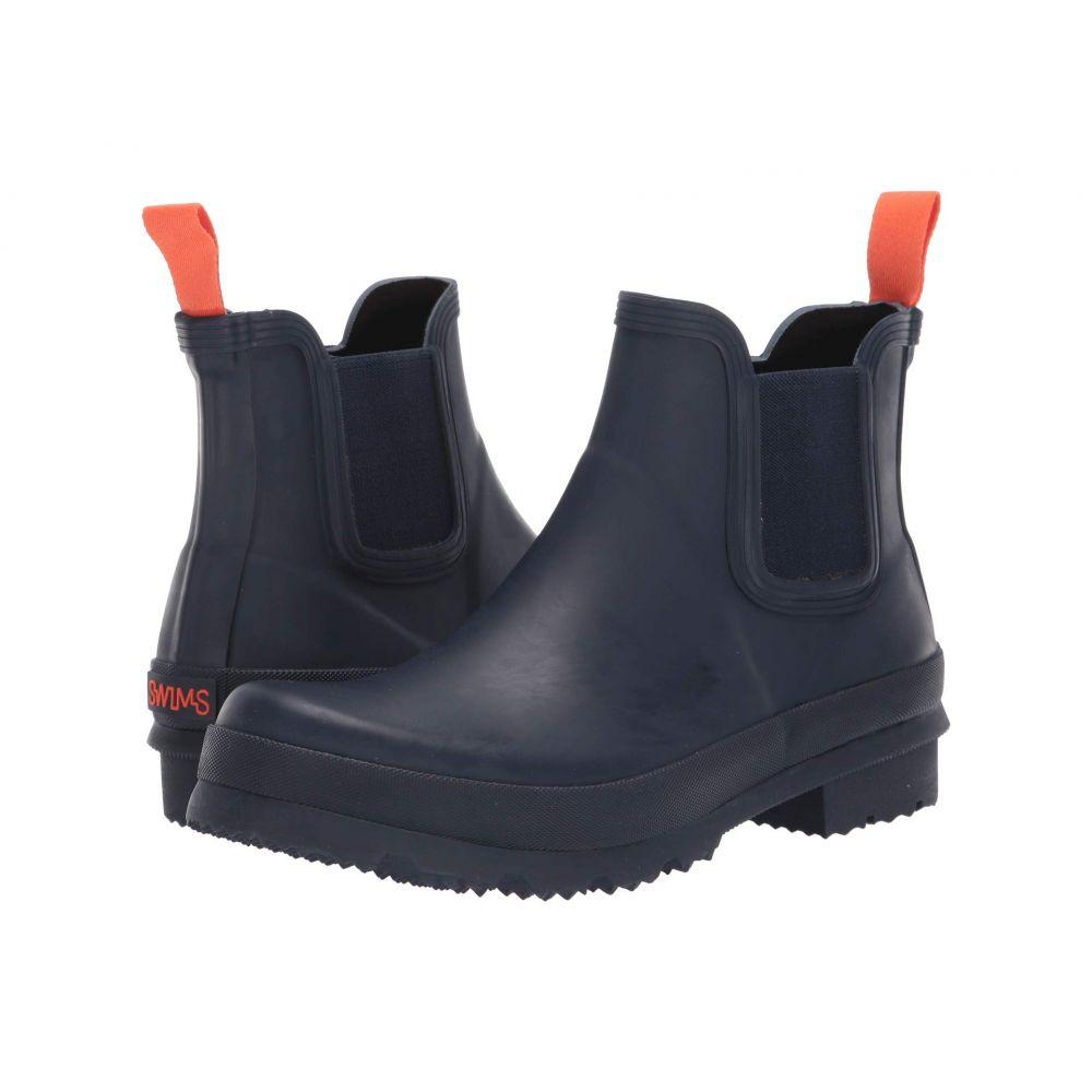 スウィムス SWIMS メンズ レインシューズ・長靴 シューズ・靴【Charlie Rain Boot】Navy