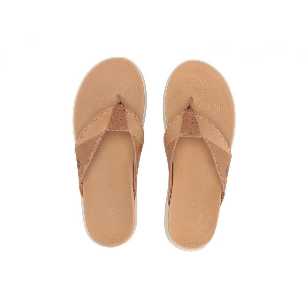 スペリー Sperry メンズ ビーチサンダル シューズ・靴【Regatta Thong】Tan/Linen