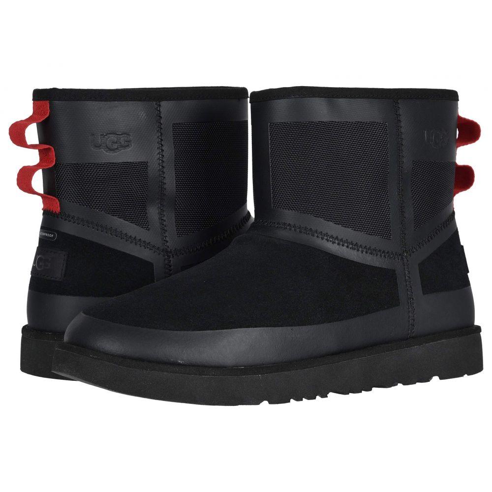 アグ UGG メンズ ブーツ シューズ・靴【Classic Mini Urban Tech WP】Black TNL