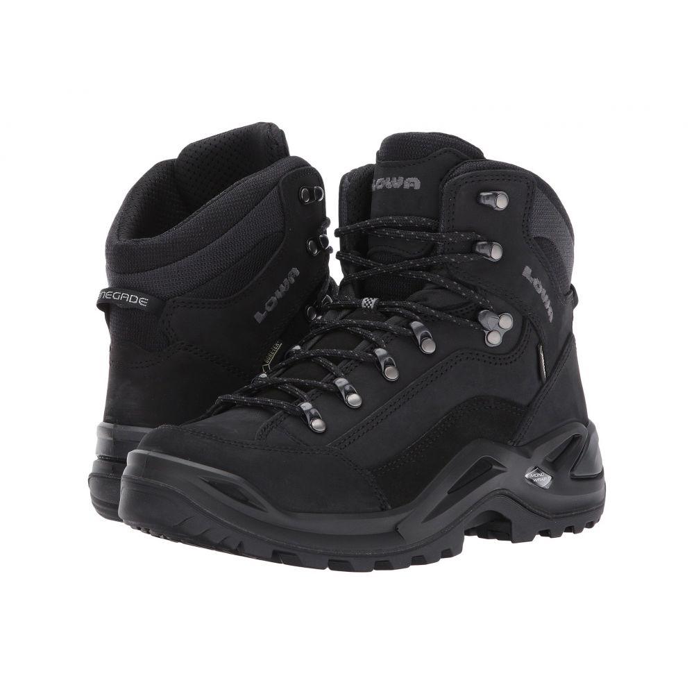 ロワ Lowa メンズ ハイキング・登山 シューズ・靴【Renegade GTX Mid】Black/Black