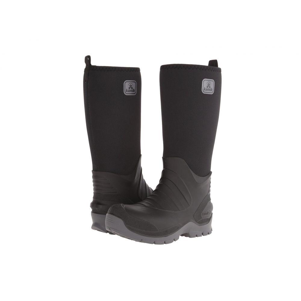 カミック Kamik メンズ ブーツ シューズ・靴【Bushman】Black