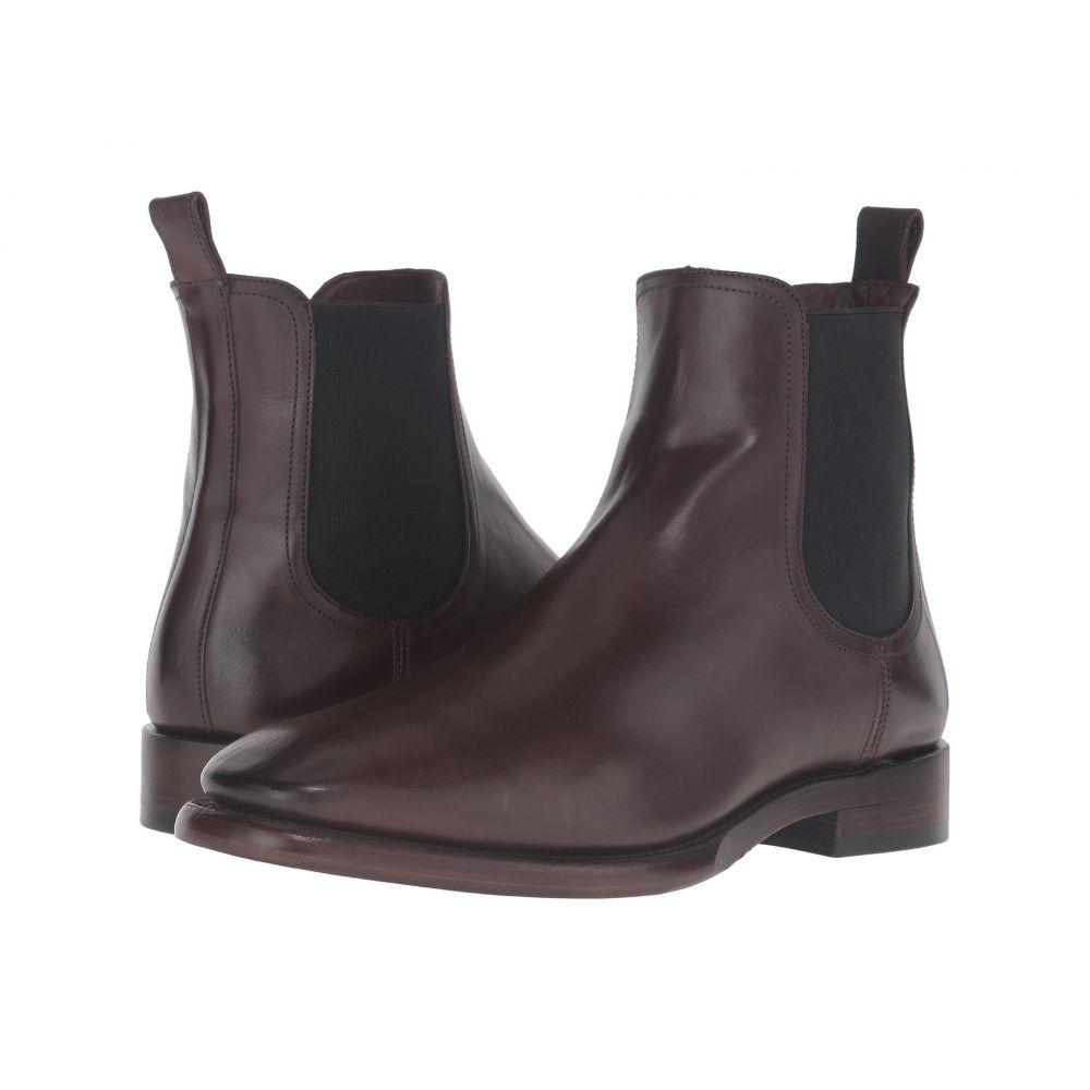 フライ Frye メンズ ブーツ シューズ・靴【Weston Chelsea】Dark Brown Smooth Veg Calf