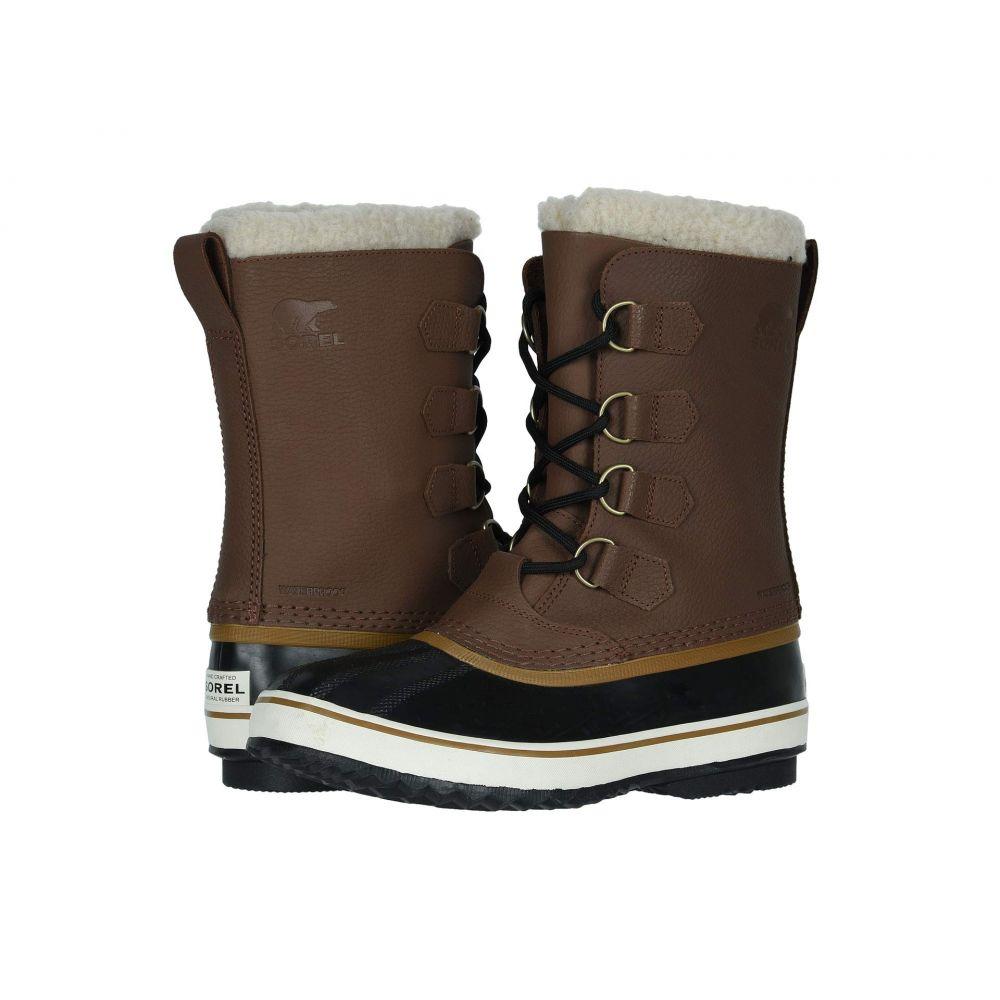 有名な高級ブランド ソレル SOREL メンズ ブーツ シューズ・靴【1964 Pac T】Hickory/Black, GLITTER DRESS 00e3ca07