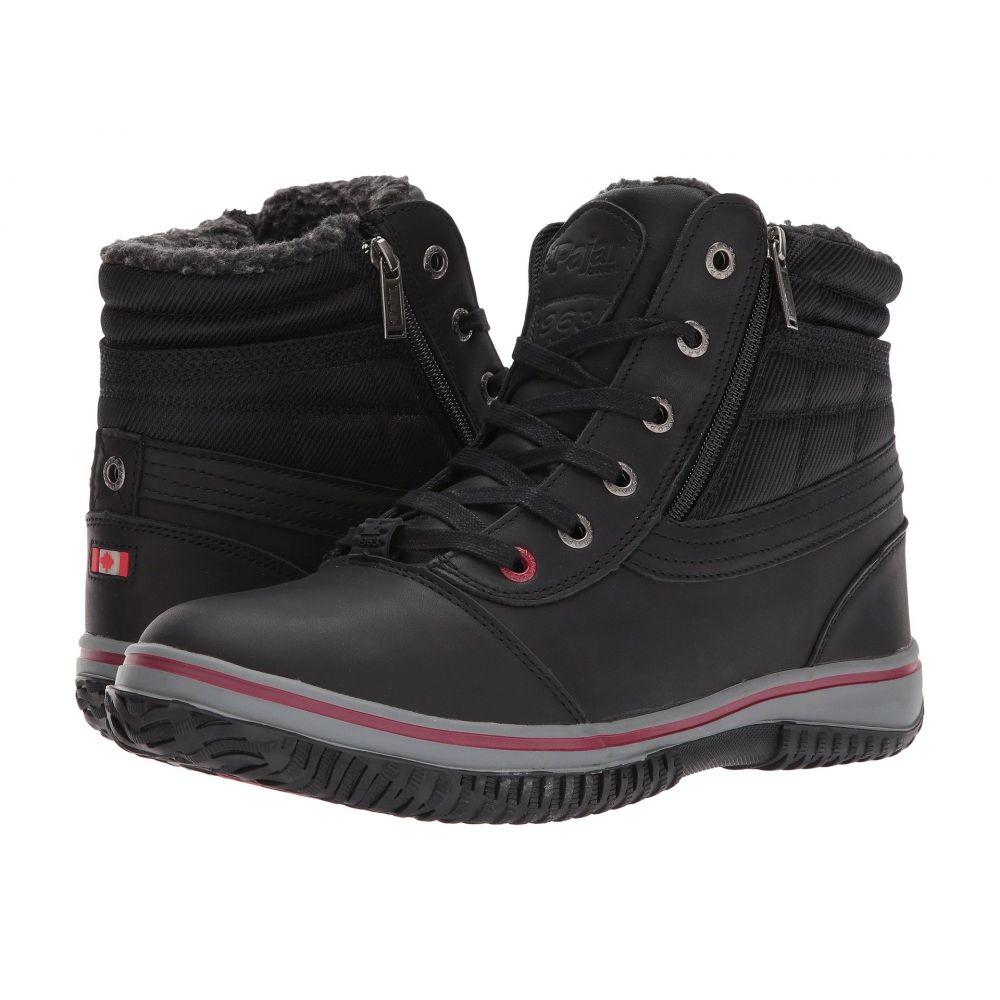 パジャー Pajar CANADA メンズ ブーツ シューズ・靴【Tavin】Black Leather