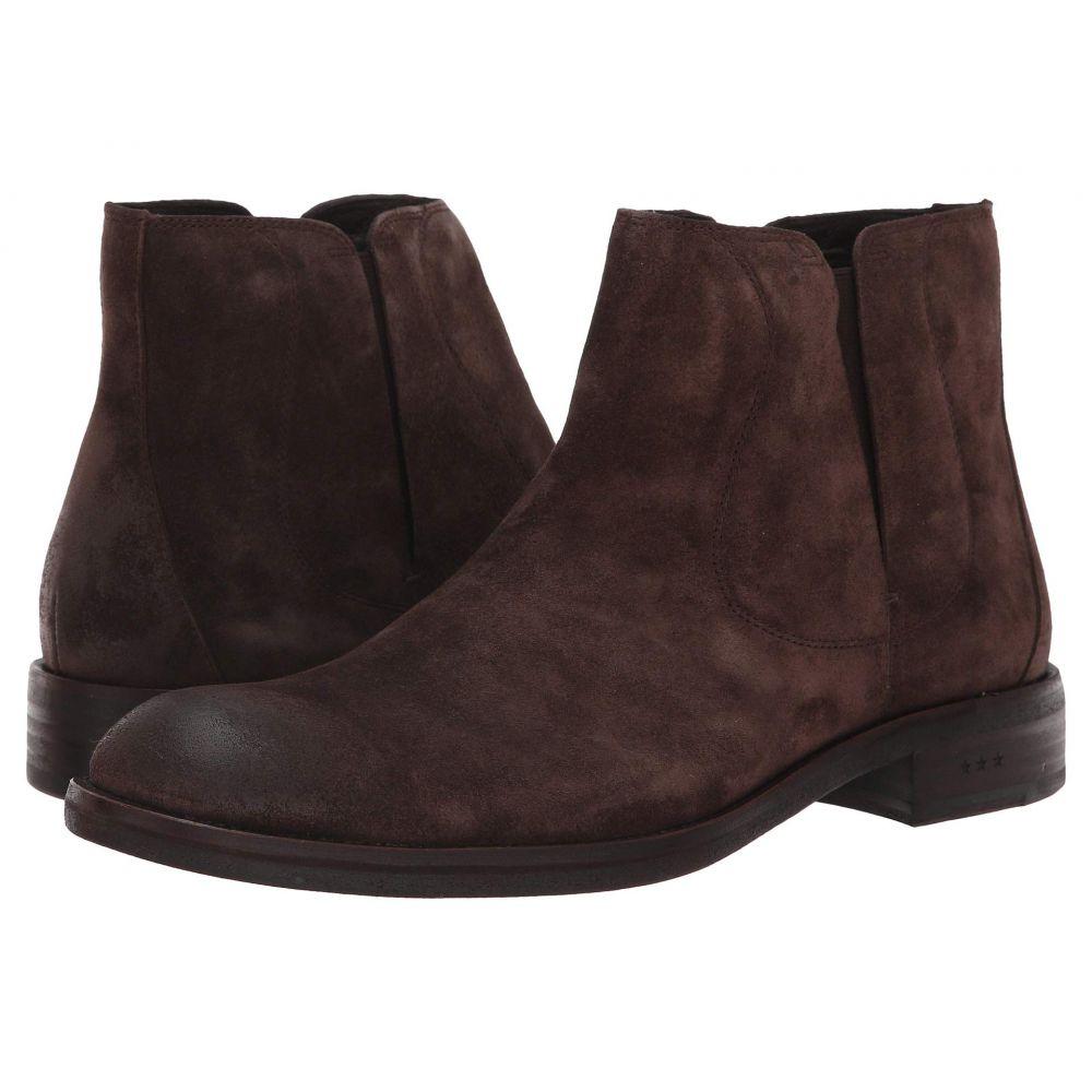 ジョン バルベイトス John Varvatos メンズ ブーツ シューズ・靴【Waverly Covered Chelsea】Dark Brown
